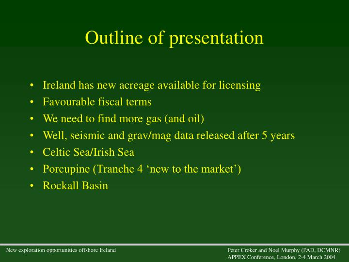 Ireland has new acreage available for licensing