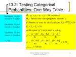 13 2 testing categorical probabilities one way table1