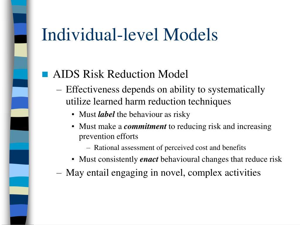 Individual-level Models