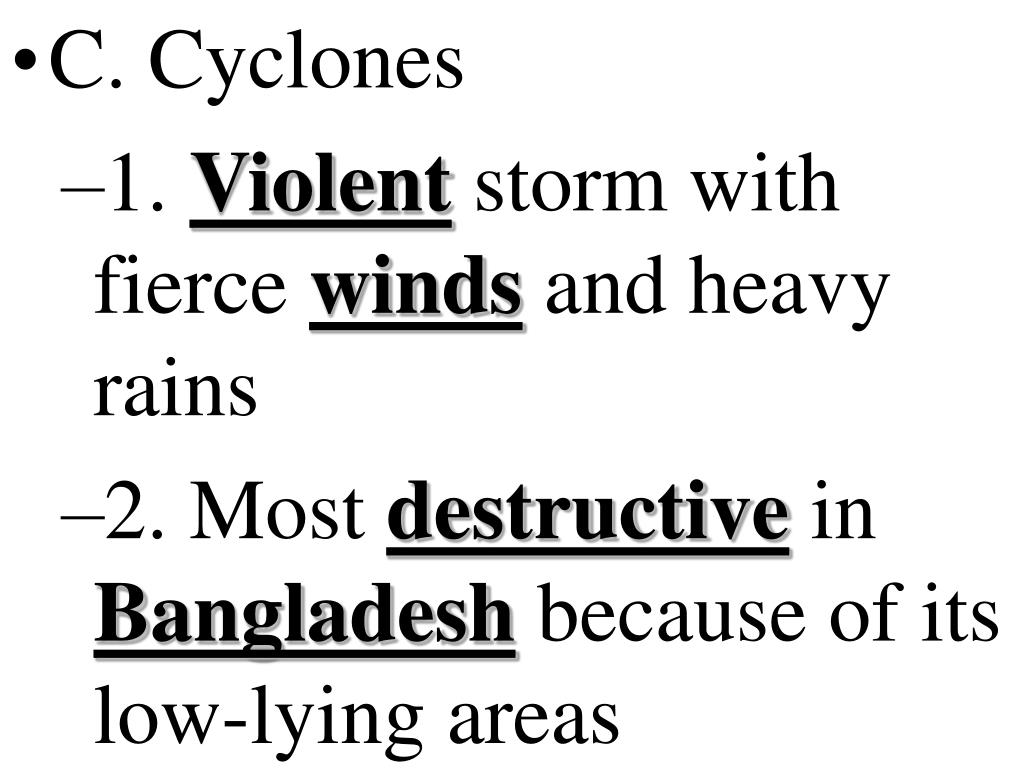 C. Cyclones