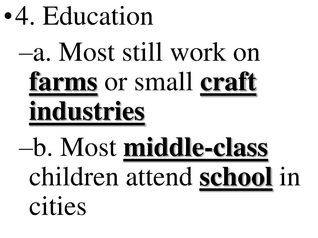 4. Education