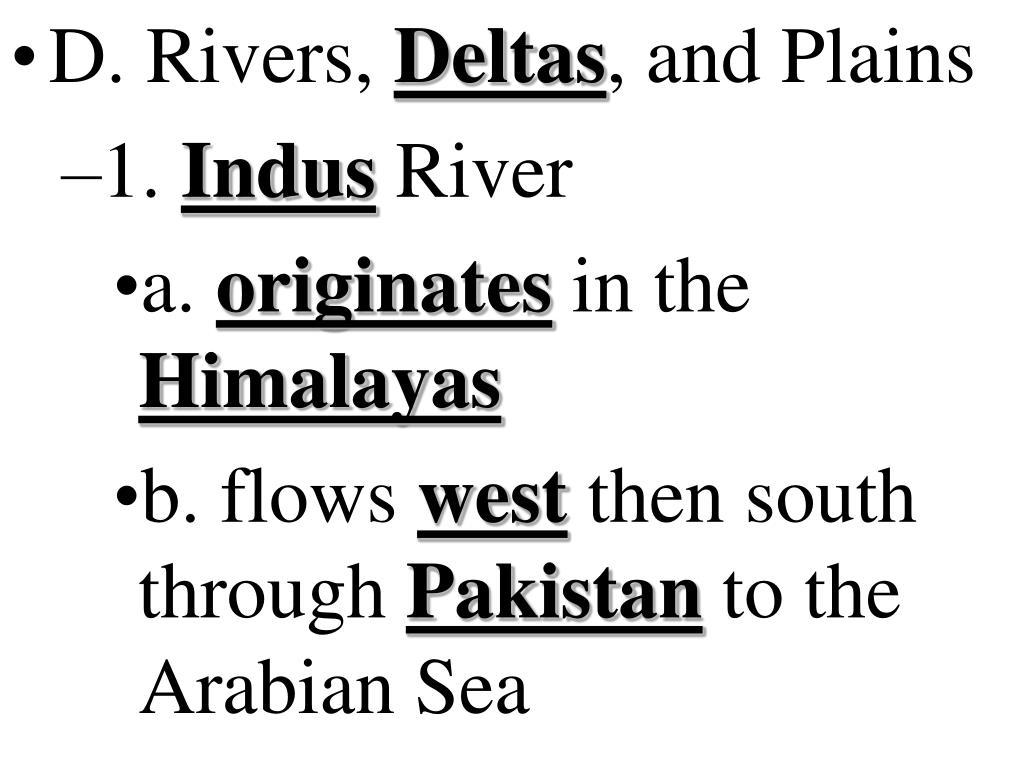 D. Rivers,