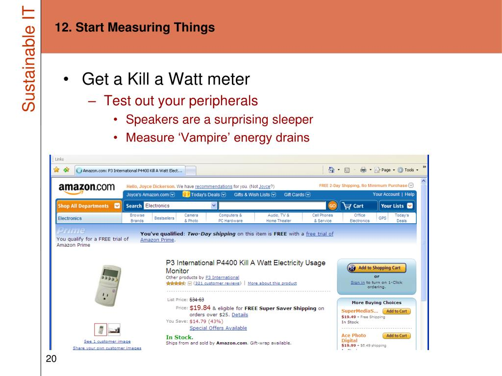12. Start Measuring Things