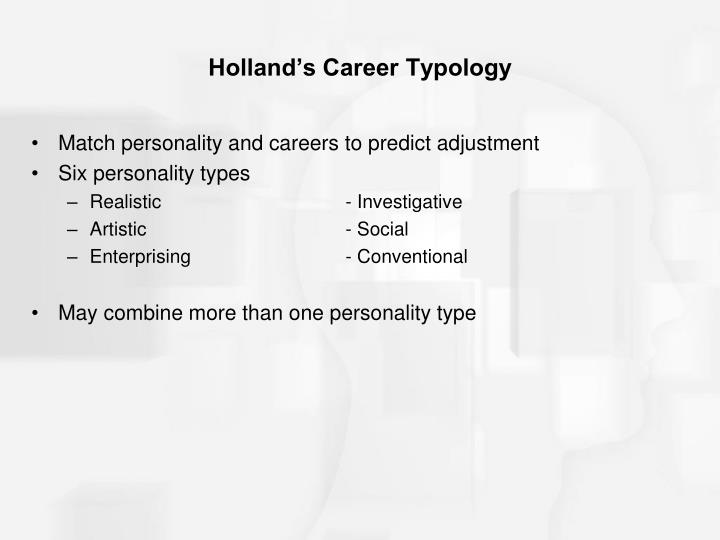 Holland's Career Typology