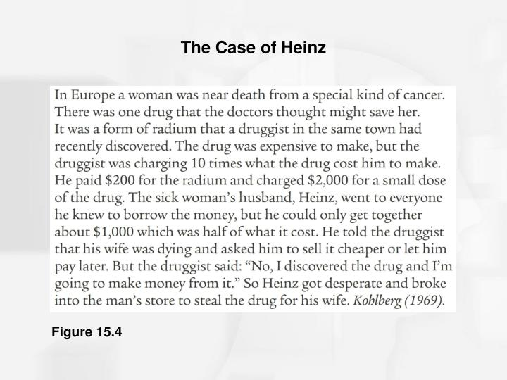 The Case of Heinz