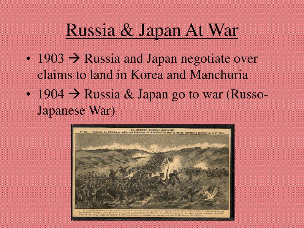 Russia & Japan At War