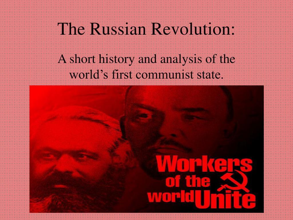 The Russian Revolution: