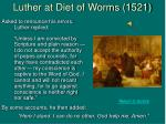 luther at diet of worms 1521