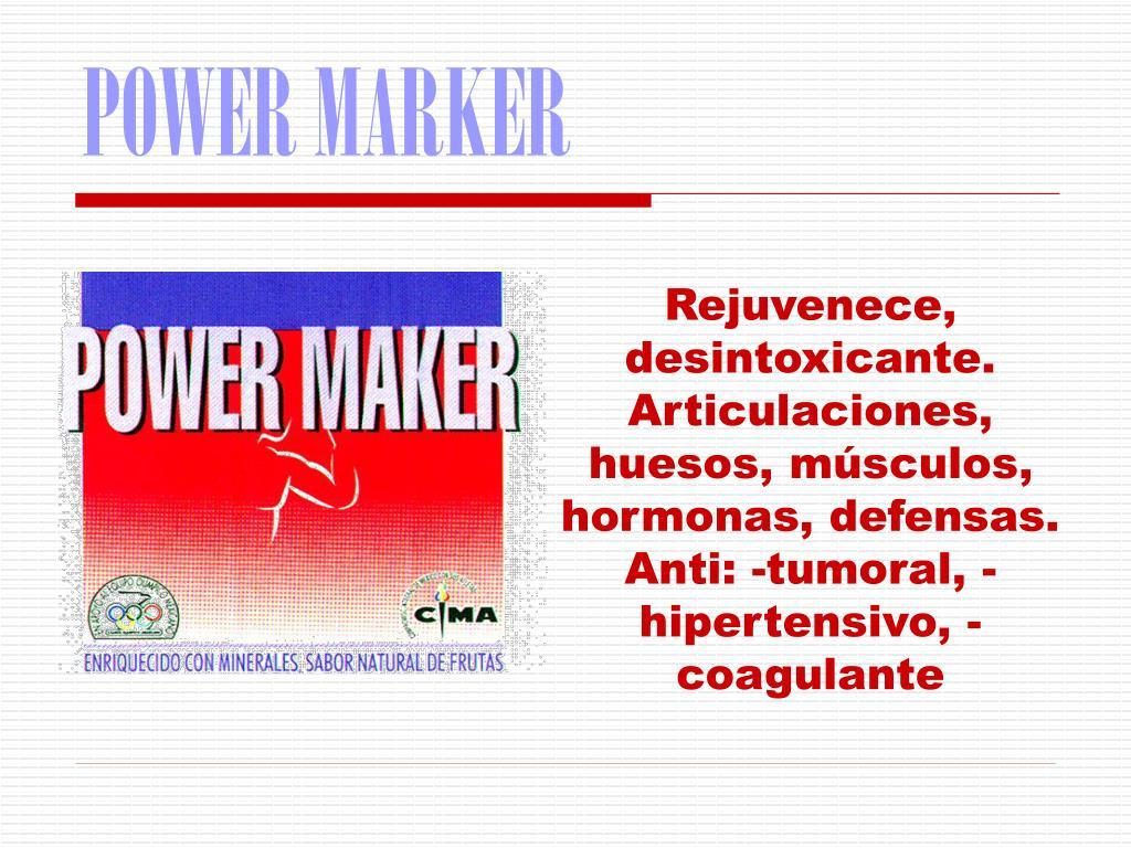 POWER MARKER