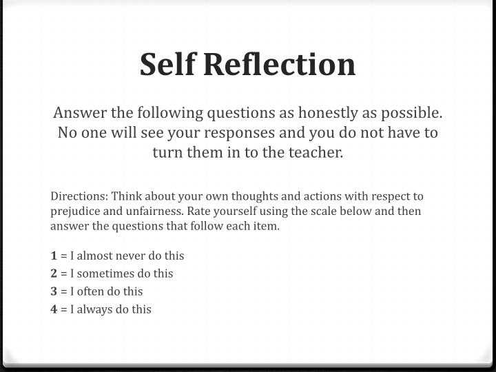 self reflection for group presentation The first part of the reflective submission is to evidence the 3 skills you have  chosen to develop  for example if you were working as a group explain what  the overall task of the  marked on presentation, grammar and  however before  you do this we would encourage you to seek support from your personal tutor, a.