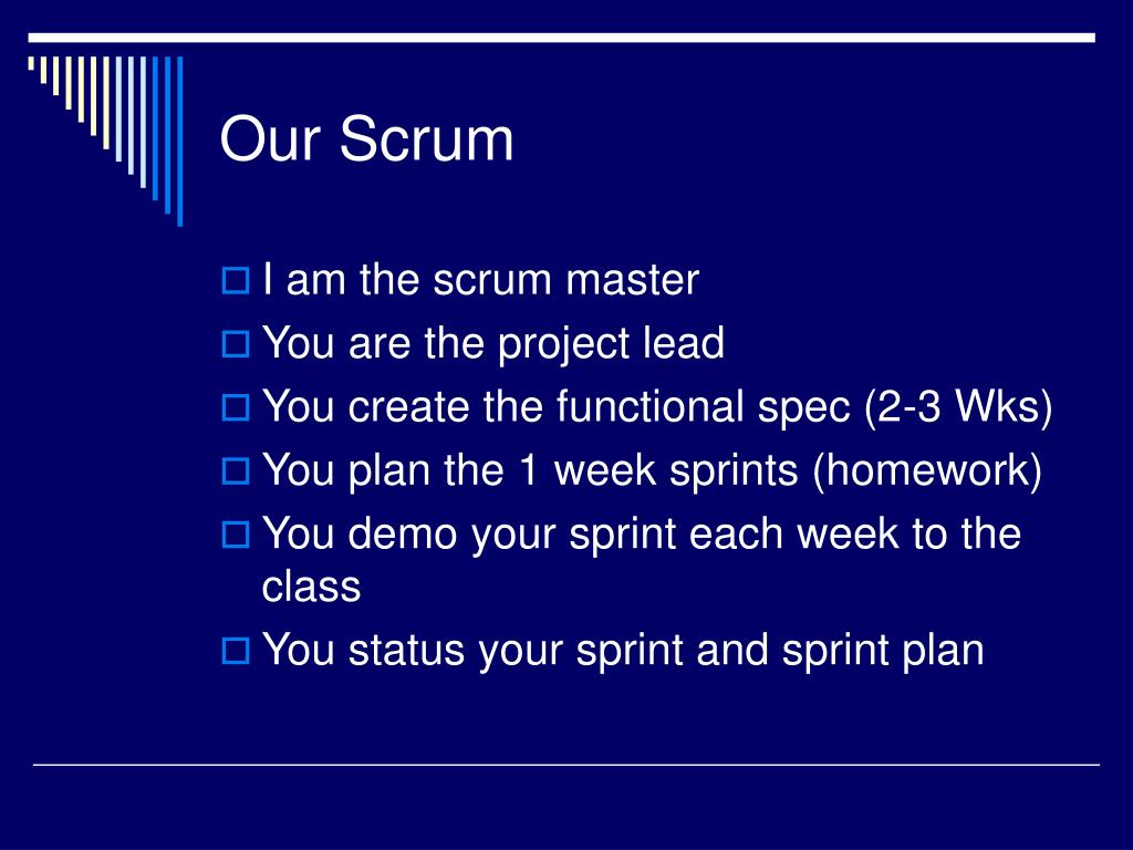Our Scrum