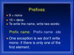 prefixes1