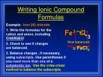 writing ionic compound formulas2