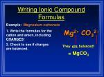 writing ionic compound formulas4