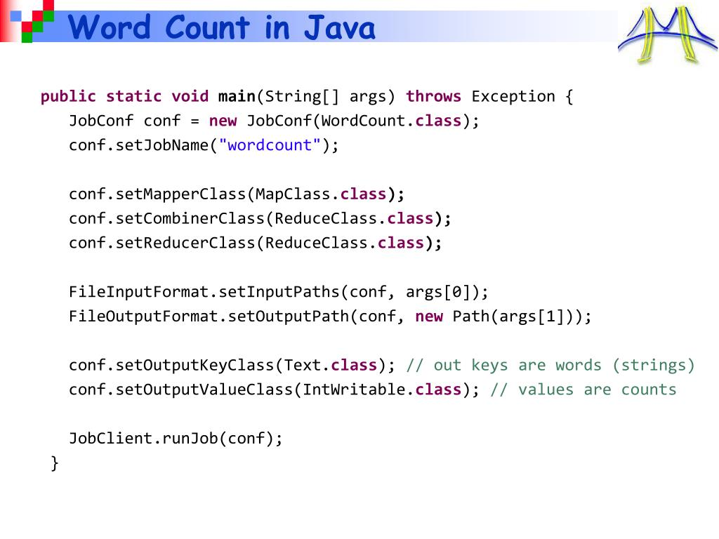 Word Count in Java