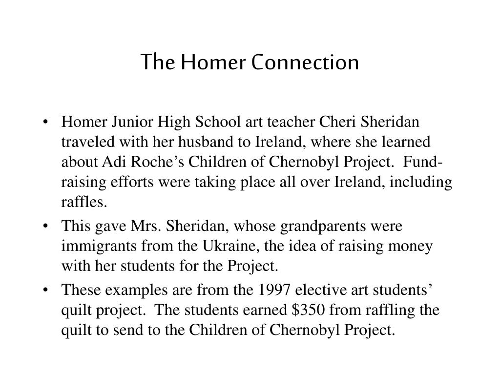 The Homer Connection