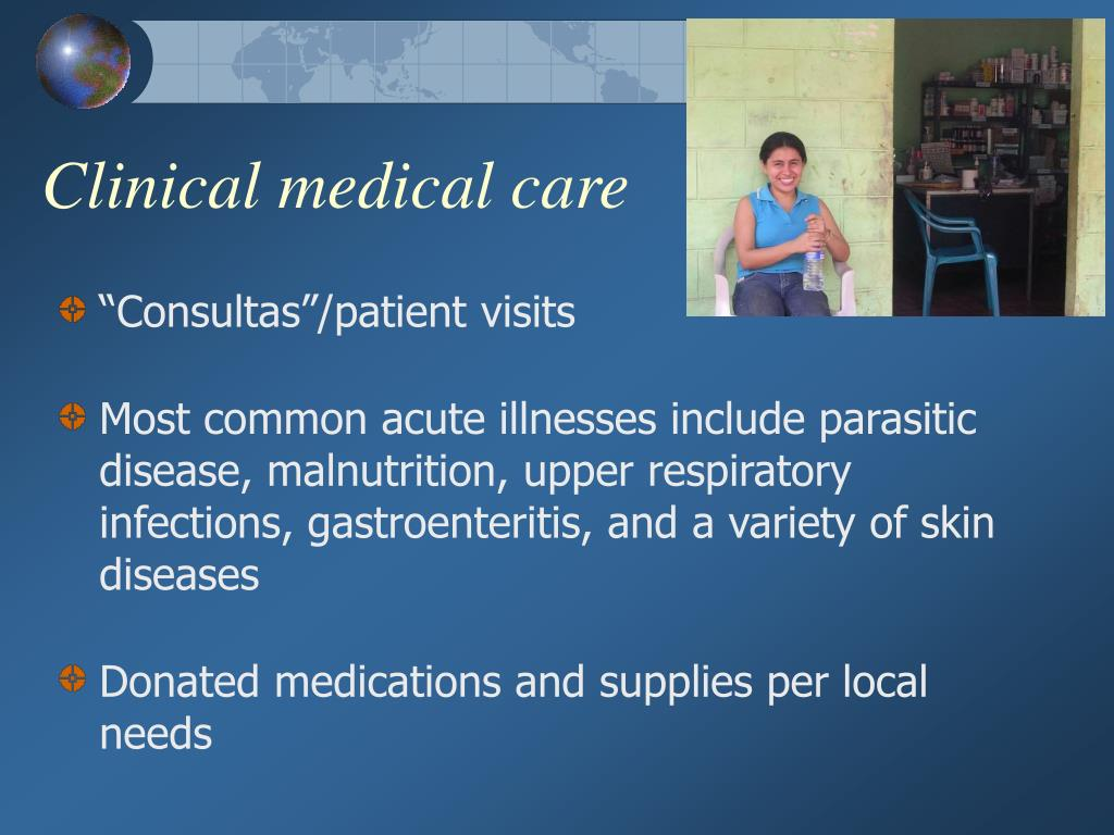 Clinical medical care