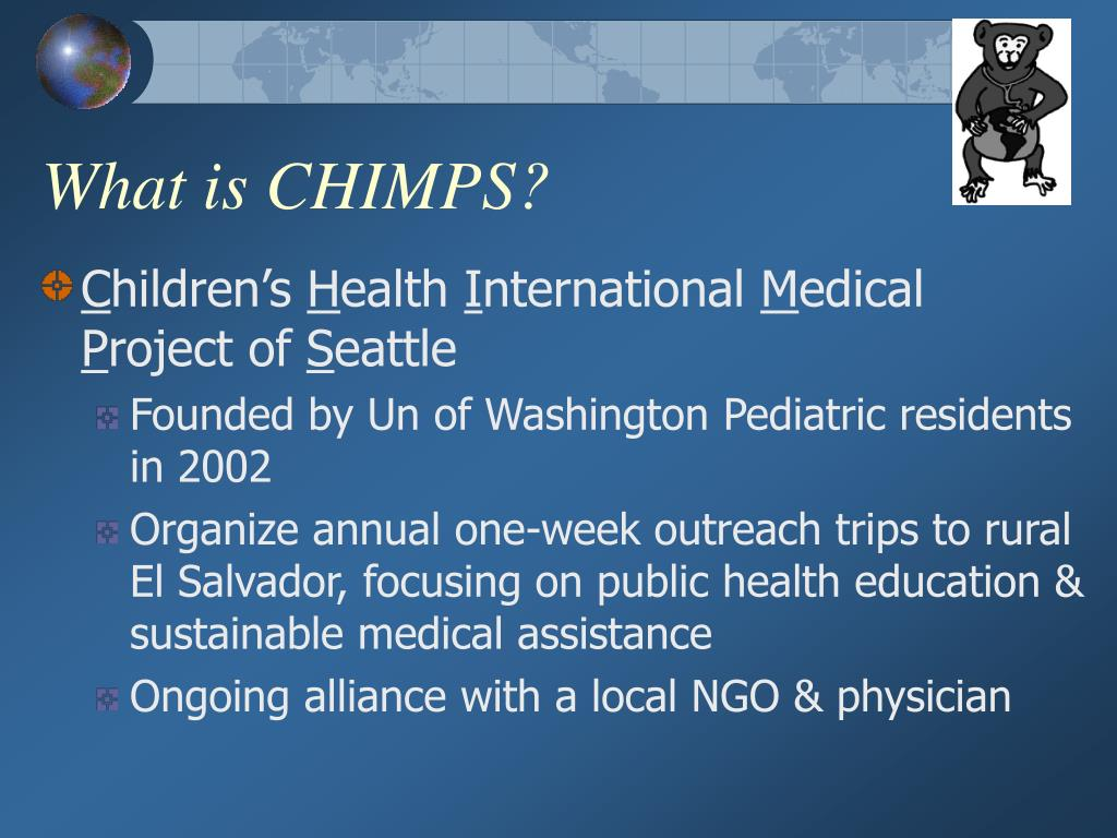 What is CHIMPS?