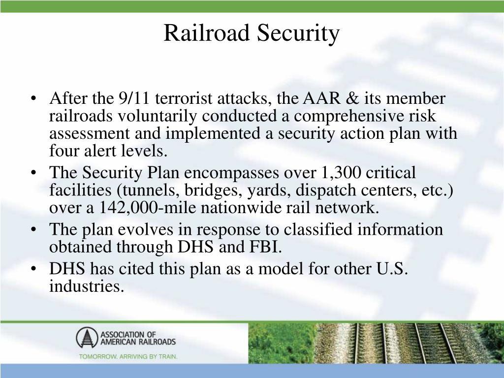 Railroad Security