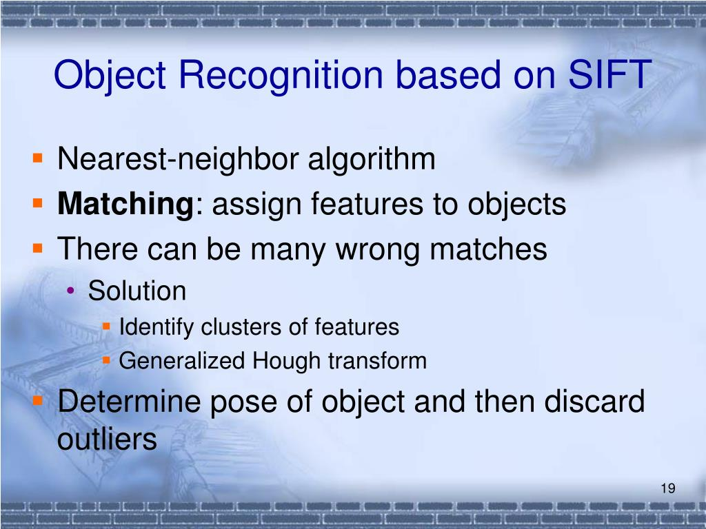 Object Recognition based on SIFT