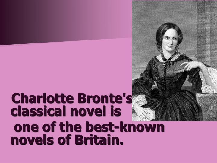 Charlotte Bronte's classical novel