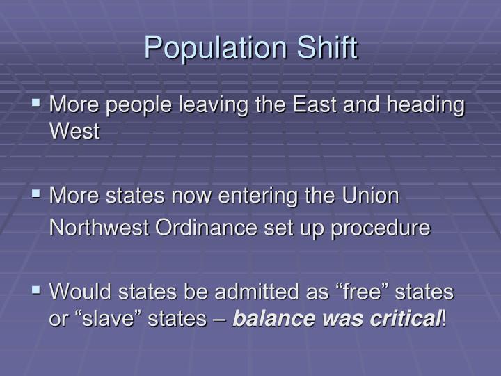 Population Shift