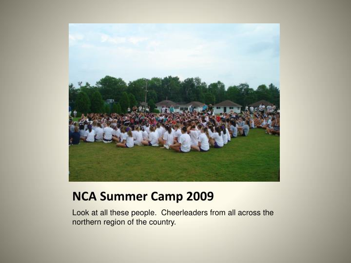 NCA Summer Camp 2009