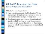 global politics and the state biswas w h ither the nation state29