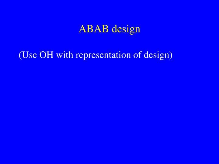 ABAB design