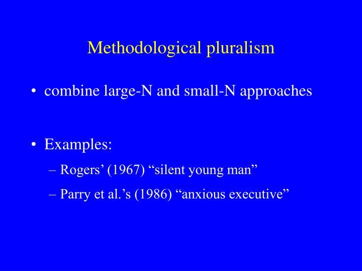Methodological pluralism