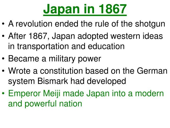Japan in 1867