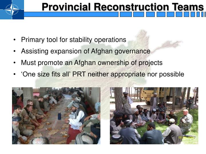 Provincial Reconstruction Teams