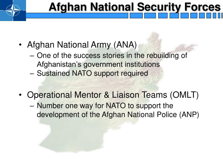 Afghan National Security Forces