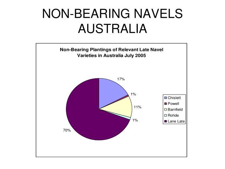 NON-BEARING NAVELS AUSTRALIA