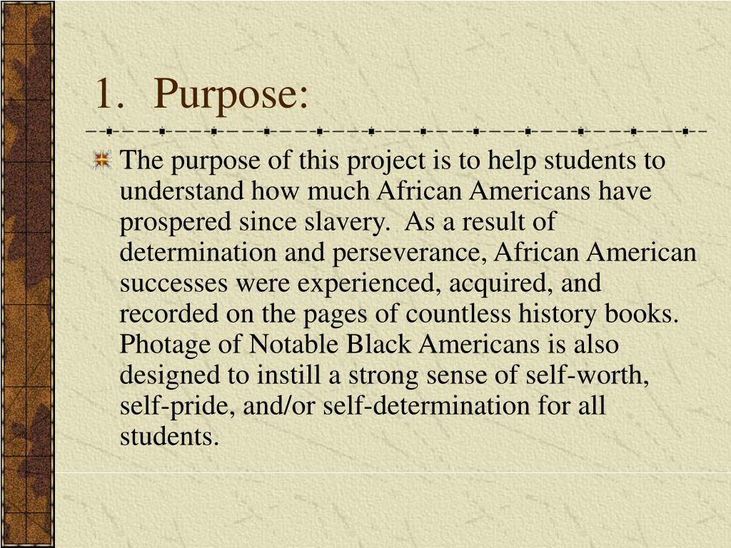 Purpose: