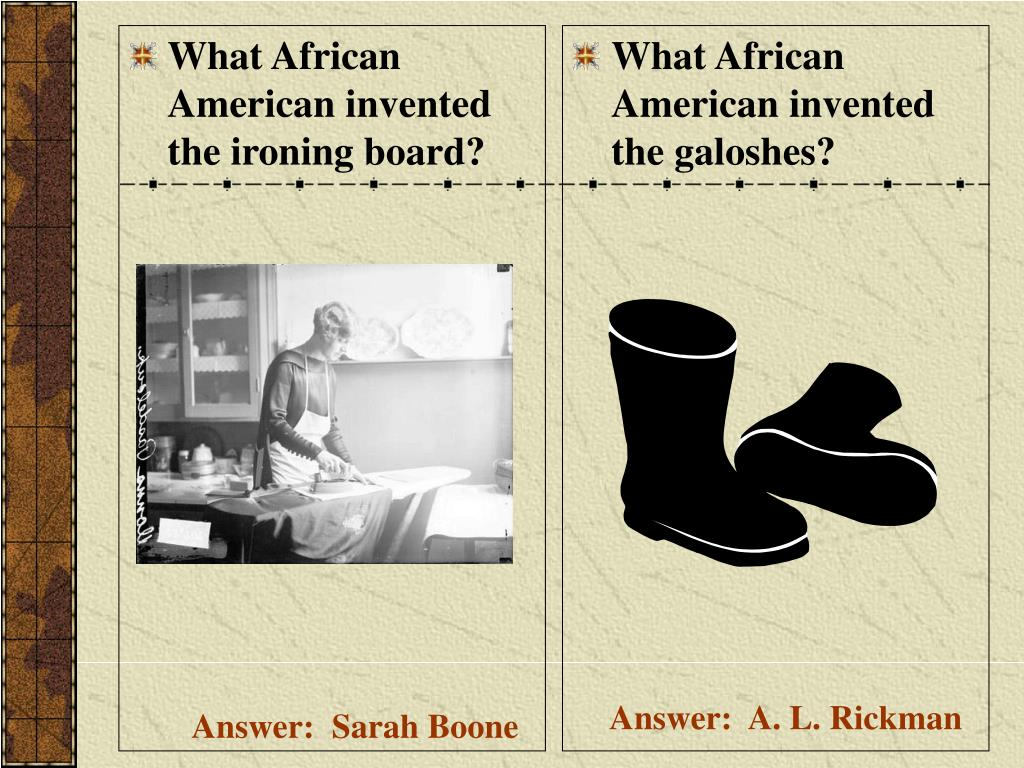 What African American invented the ironing board?