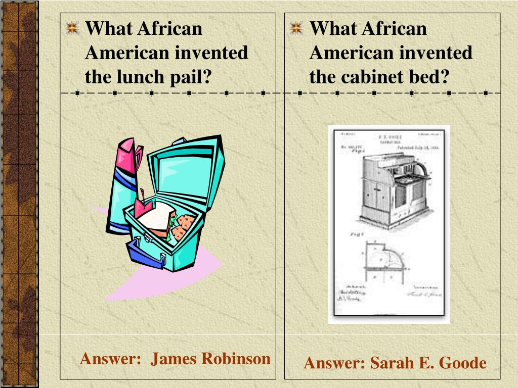 What African American invented the lunch pail?