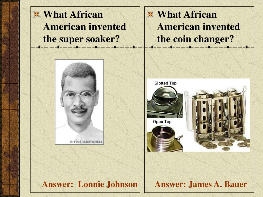 What African American invented the super soaker?