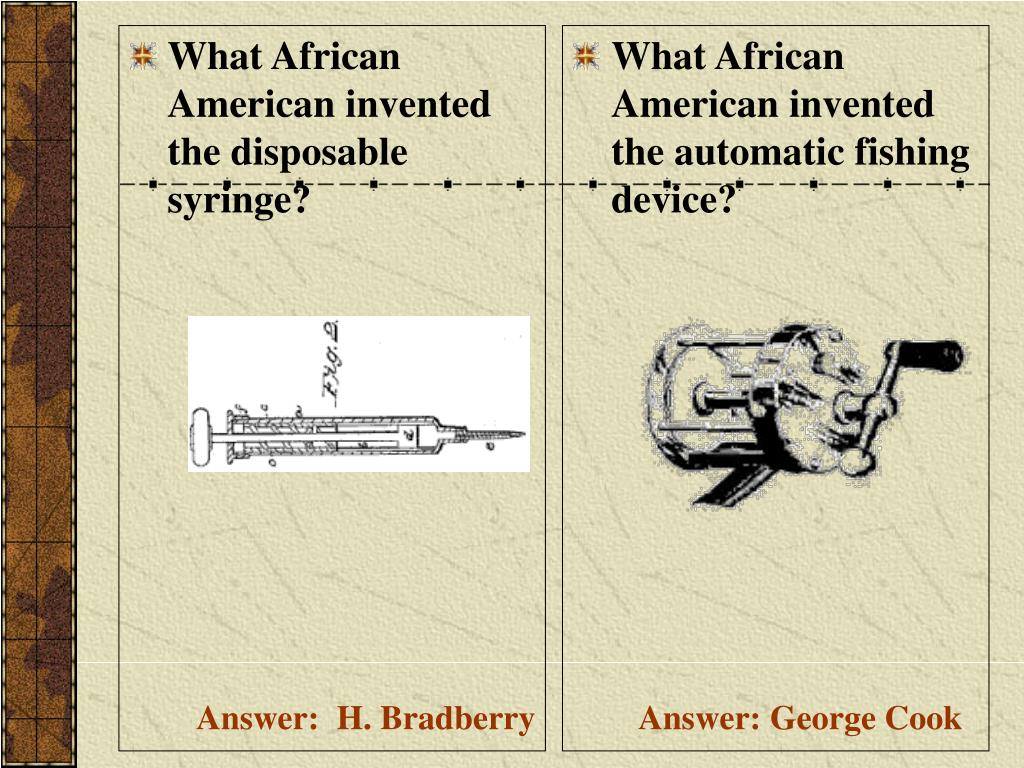 What African American invented the disposable syringe?