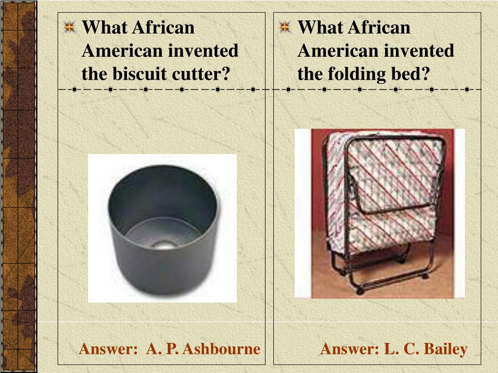 What African American invented the biscuit cutter?