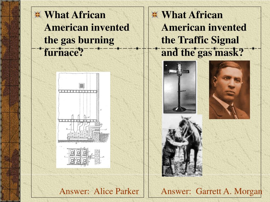 What African American invented the gas burning furnace?
