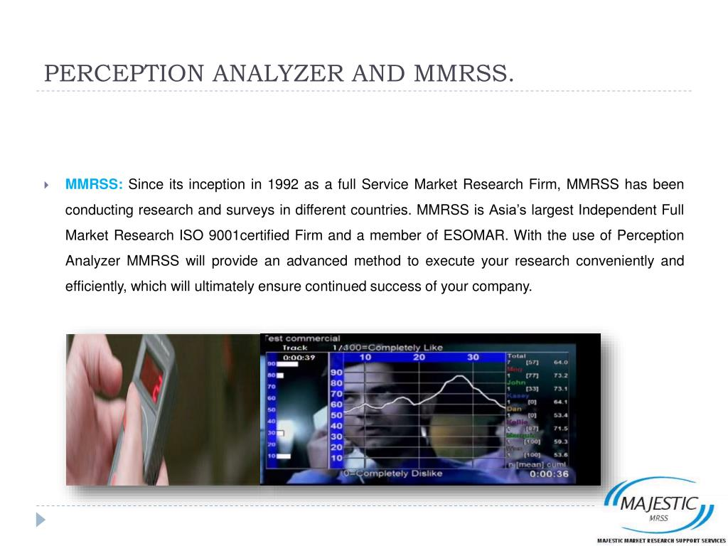 PERCEPTION ANALYZER AND MMRSS.