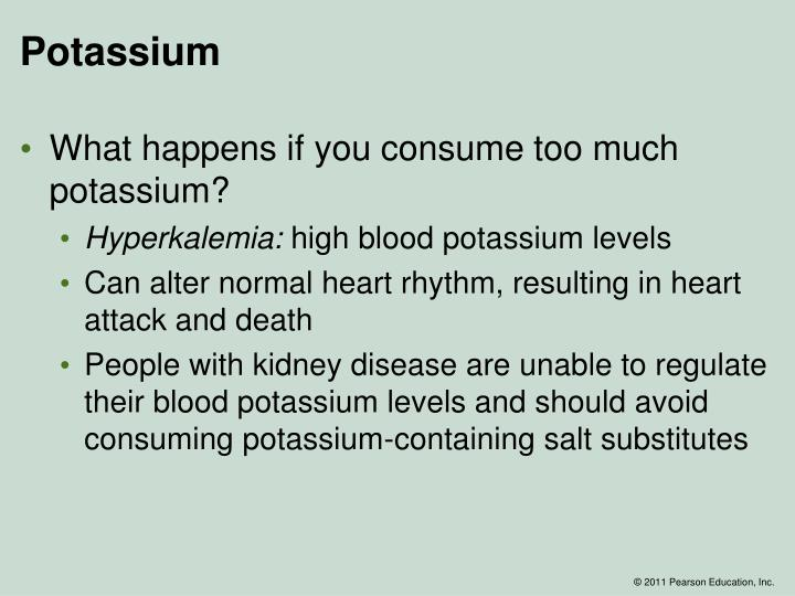 what is normal potassium level in humans