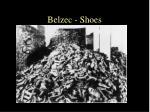 belzec shoes