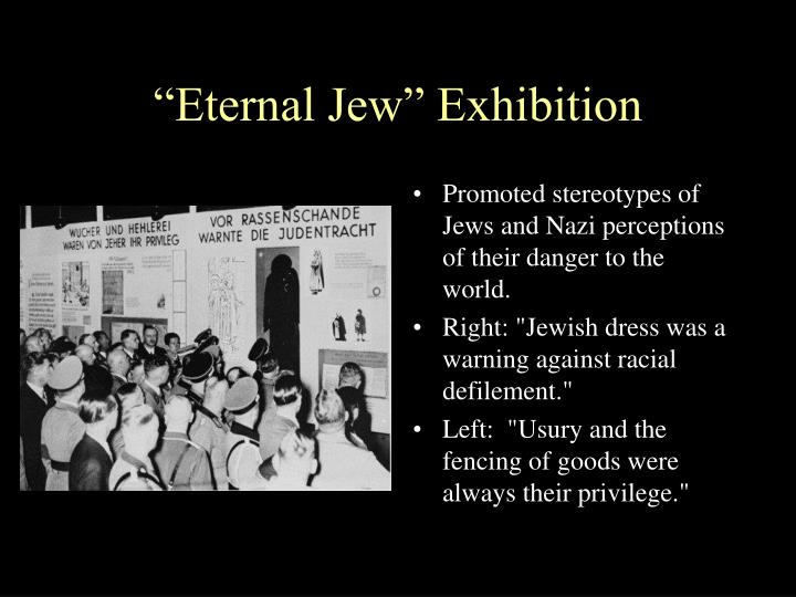 """Eternal Jew"" Exhibition"