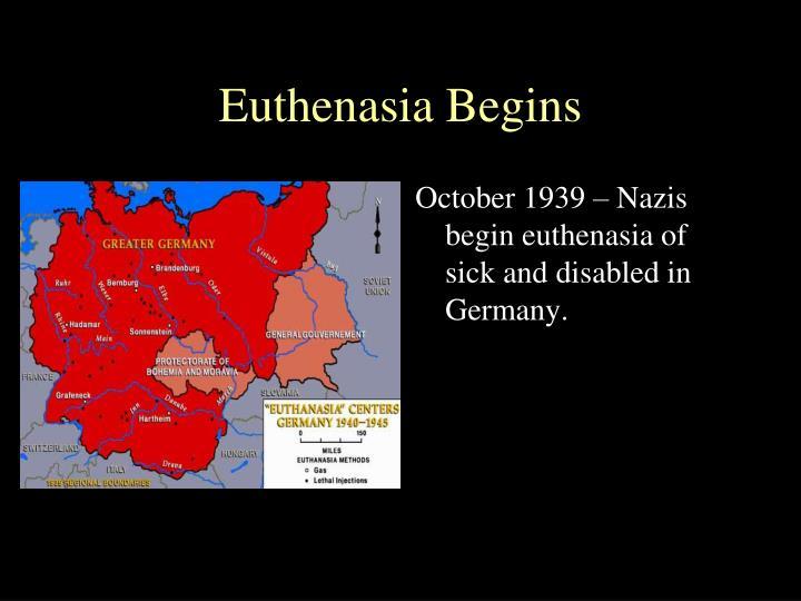 Euthenasia Begins