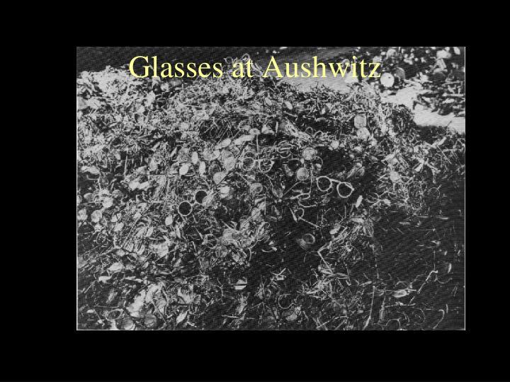 Glasses at Aushwitz