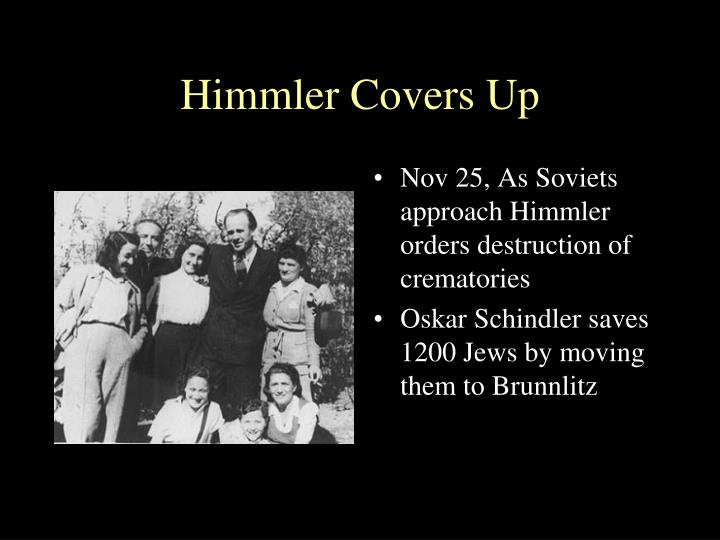 Himmler Covers Up