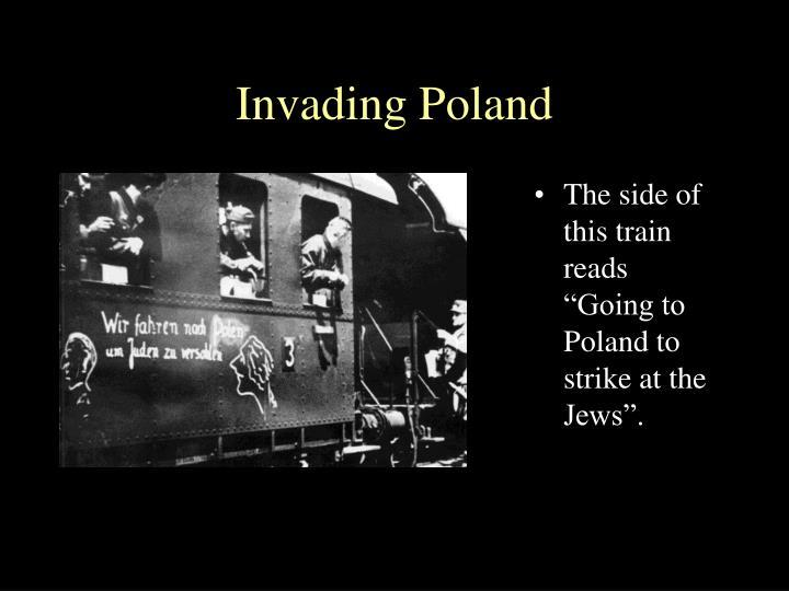 Invading Poland