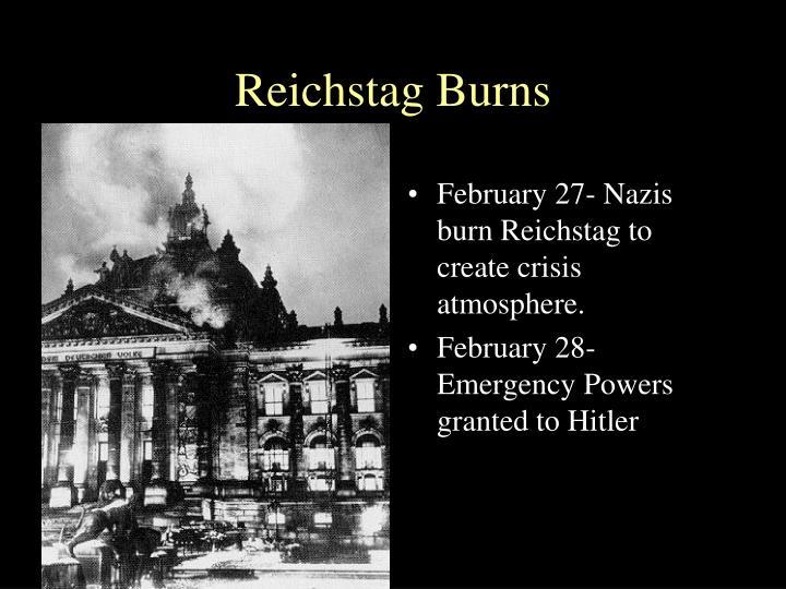 Reichstag Burns